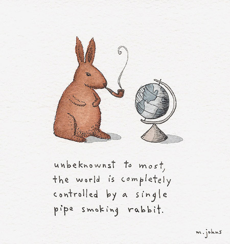 Marc Johns - Rabbit rules the world